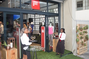 The spacious This Way Out store, which launched at 16 Buiten Street, Cape Town on 12 November, offers a unique retail experience.