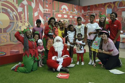 Santa at Menlyn