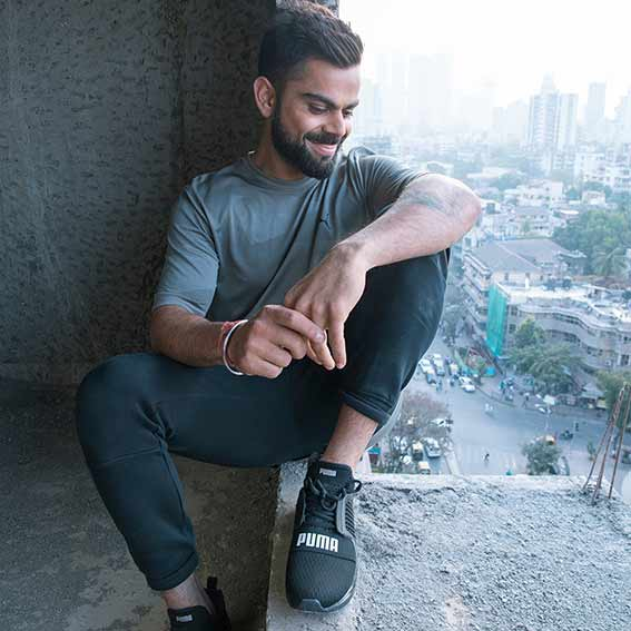 Indian Cricket Captain Now Part Of The Puma Family Sports