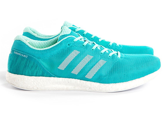 43318404e14 adidas hopes to break the two hour barrier with their new adizero Sub 2 shoe .