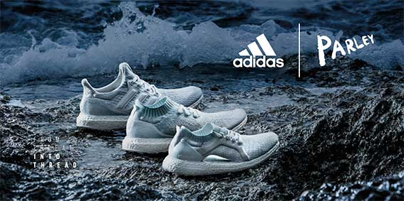 From Threat to Thread: adidas is transforming plastic into